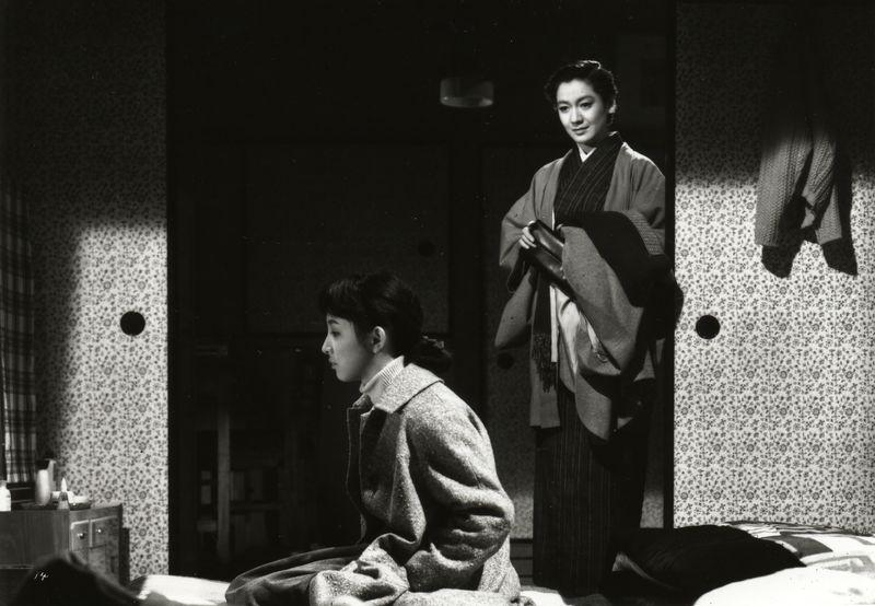 Szenenfoto aus dem Film Tokyo Boshoku, Japan 1957, Regie: Yasujiro Ozu