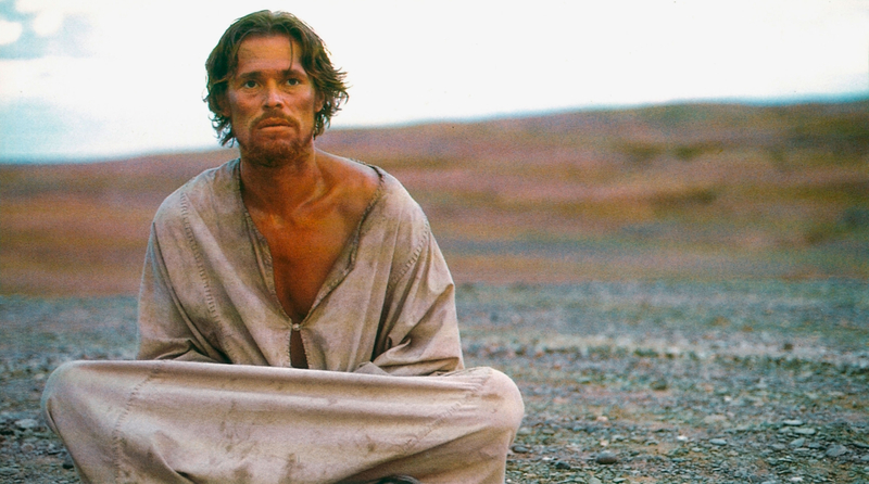 Willem Dafoe als Jesus im Film The Last Temptation of Christ von Martin Scorsese