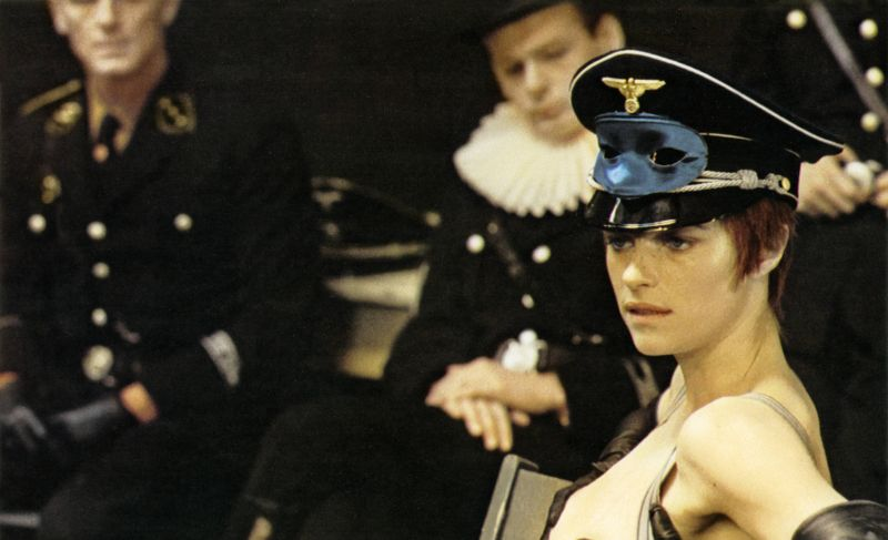 Charlotte Rampling in dem Film Il portiere di notte