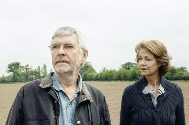 Tom Courtenay und Charlotte Rampling in dem Film 45 Years