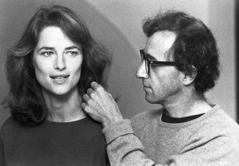 Charlotte Rampling and Woody Allen in Stardust Memories, USA 2019, directed by Woody Allen