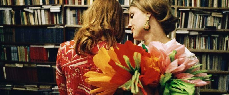 Christine de Loup und Liane Hielscher in dem Film Neun Leben hat die Katze