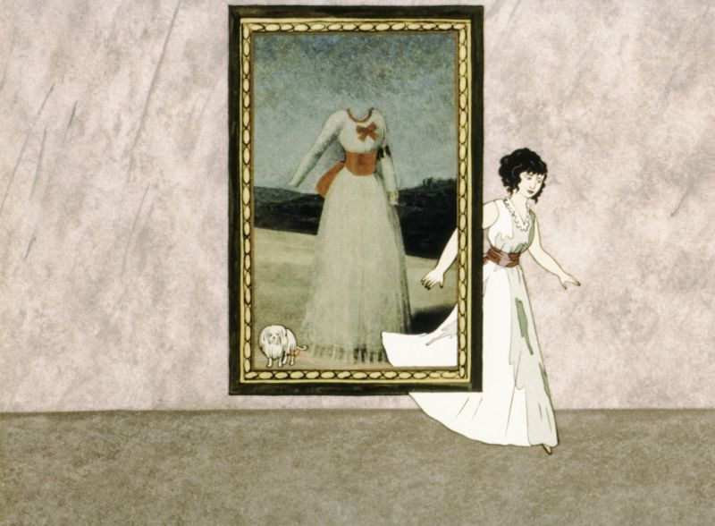 Szenenbild aus dem Film Gemäldegalerie