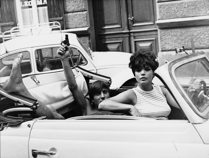 Werner Enke, Uschi Glas in Zur Sache Schätzchen, BRD 1968, Regie: May Spils