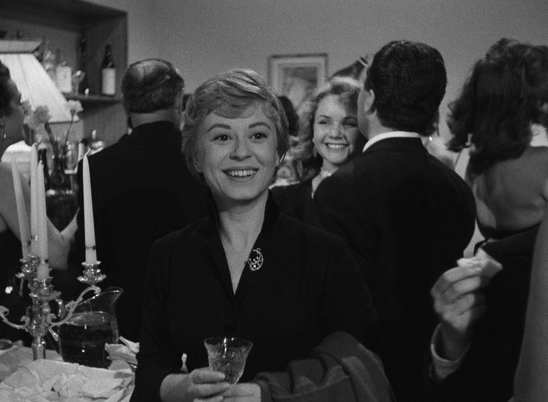 Giulietta Masina in dem Film Il bidone, Regie: Federico Fellini
