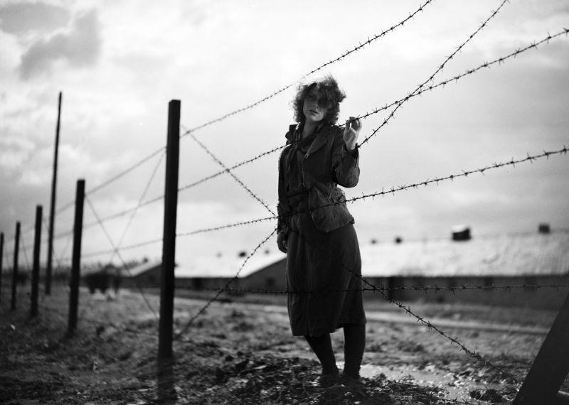 Szenenfoto aus dem Film Ostatni etap, Polen 1948, Regie: Wanda Jakubowska