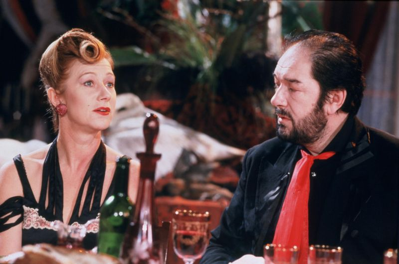 Helen Mirren, Michael Gambon in The Cook, the Thief, His Wife & Her Lover