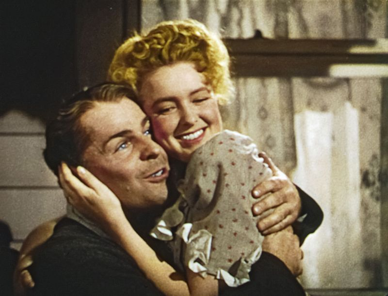 Brian Donlevy, Ann Richards in An American Romance