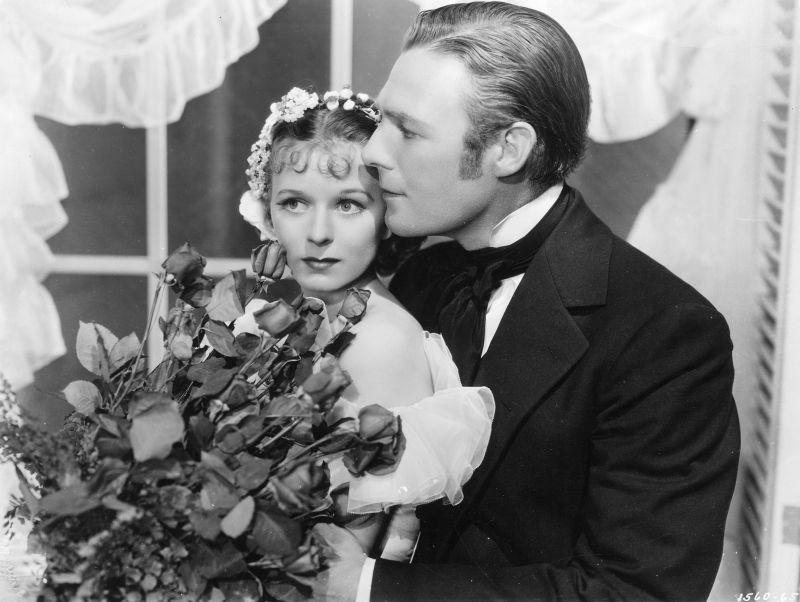 Margaret Sullavan, Randolph Scott in So Red the Rose