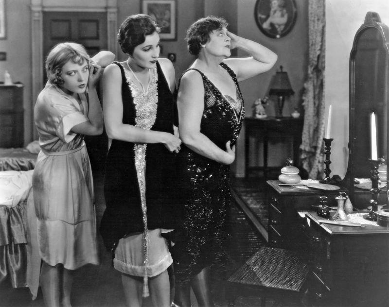 Marion Davies, Jane Winton, Marie Dressler in The Patsy