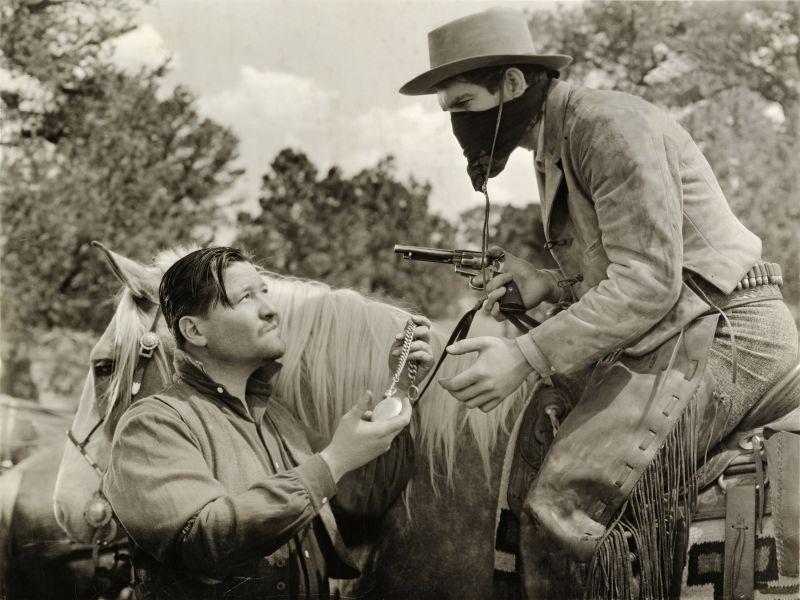 Jack Oakie in The Texas Rangers