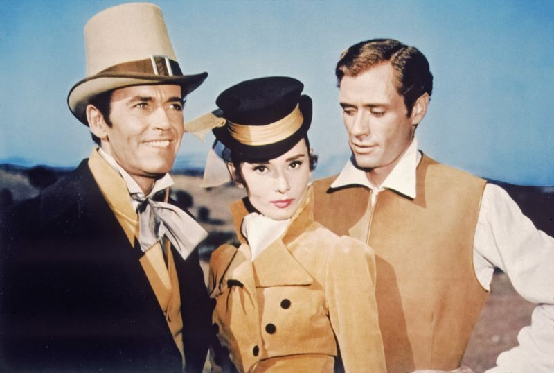 Henry Fonda, Audrey Hepburn, Mel Ferrer