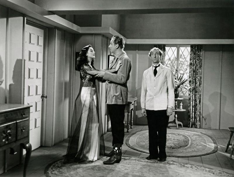 Schwarz-weiß-Szenenfoto