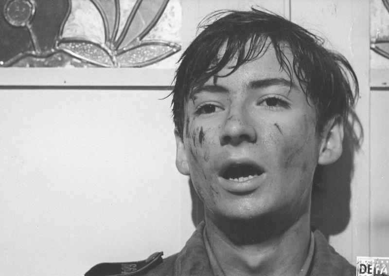 Gert Krause-Melzer in dem Film Die Russen kommen (DDR 1968, Regie: Heiner Carow)