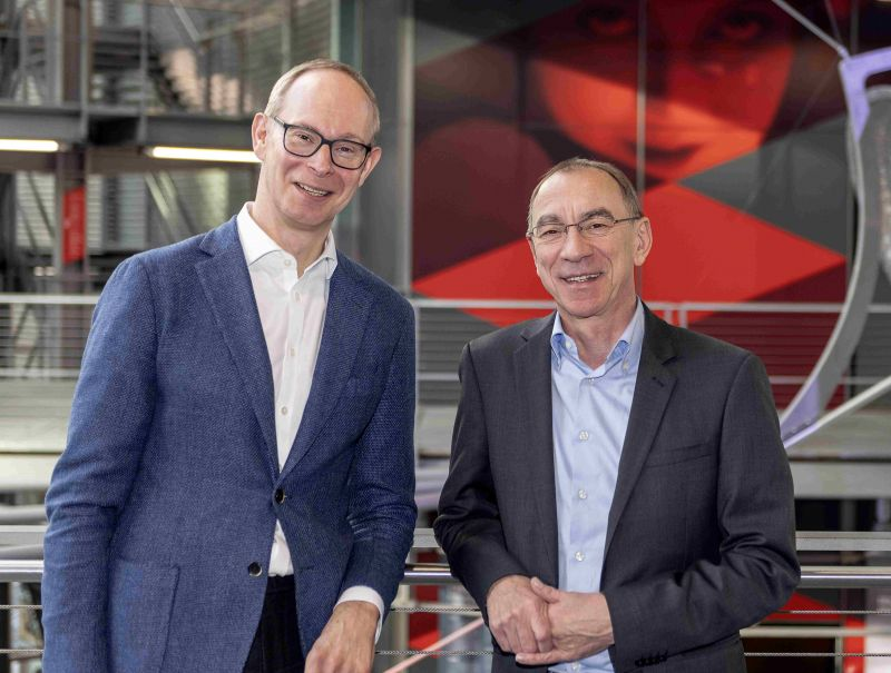 Florian Bolenius und Dr. Rainer Rother bilden gemeinsam den Vorstand der Deutschen Kinemathek