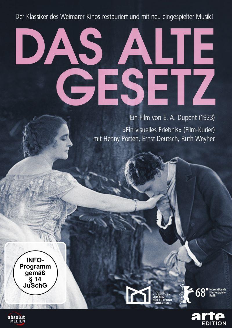 """Cover der DVD """"Das alte Gesetz"""""""