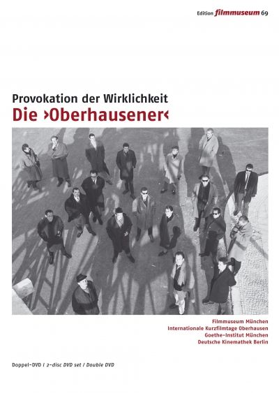 DVD cover of the film collection Die Oberhausener