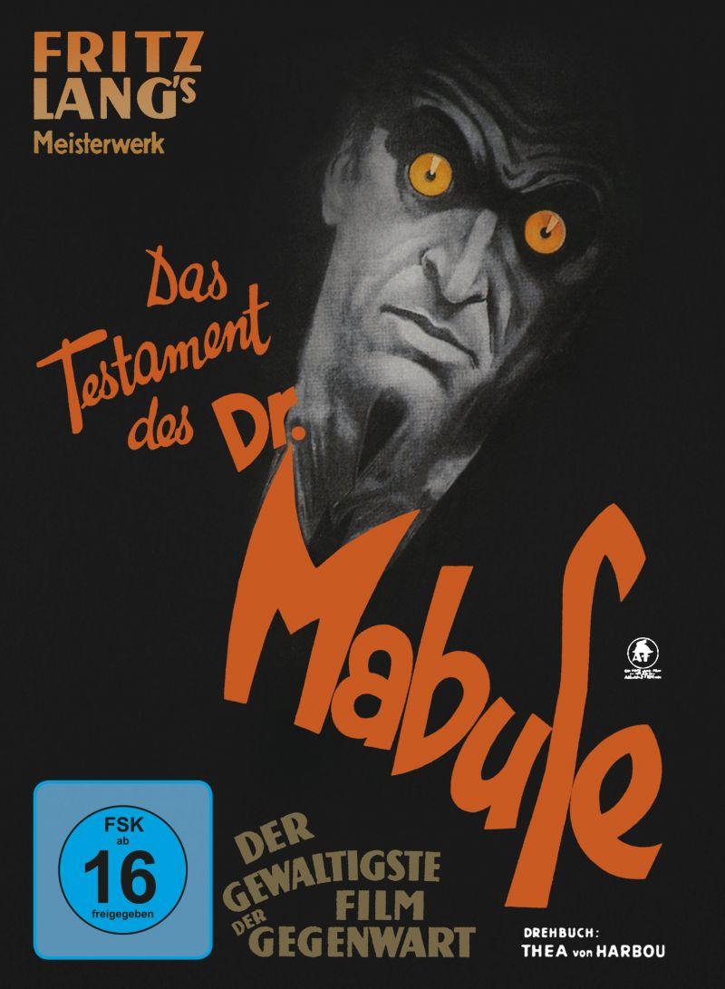 """Cover der DVD """"Das Testament des Dr. Mabuse"""""""