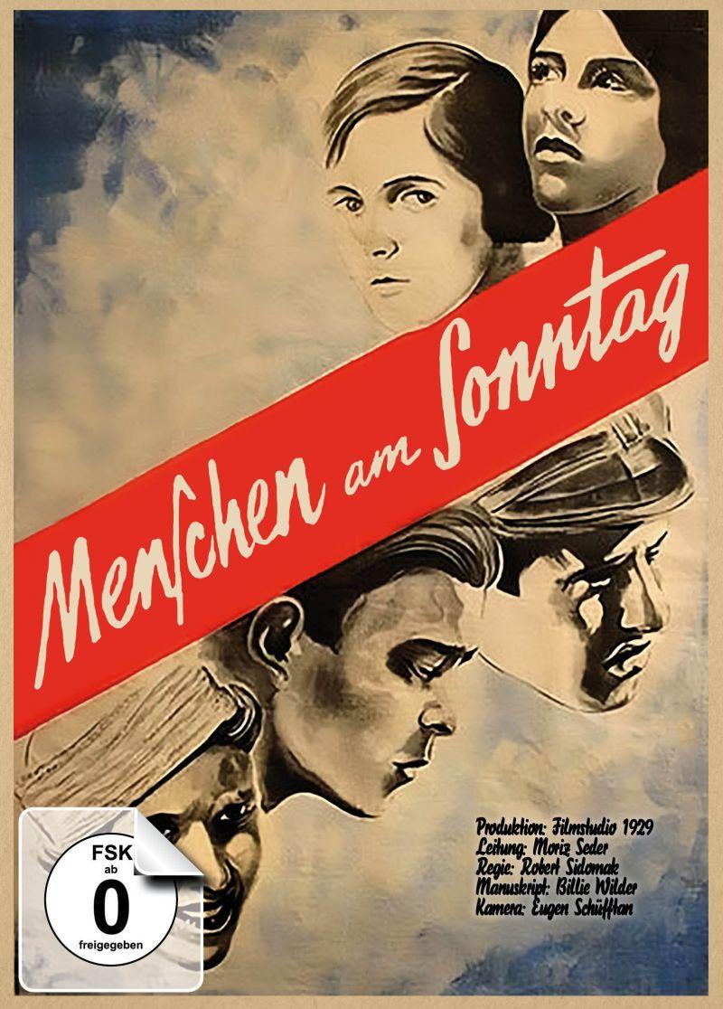 """Cover der DVD """"Menschen am Sonntag"""""""