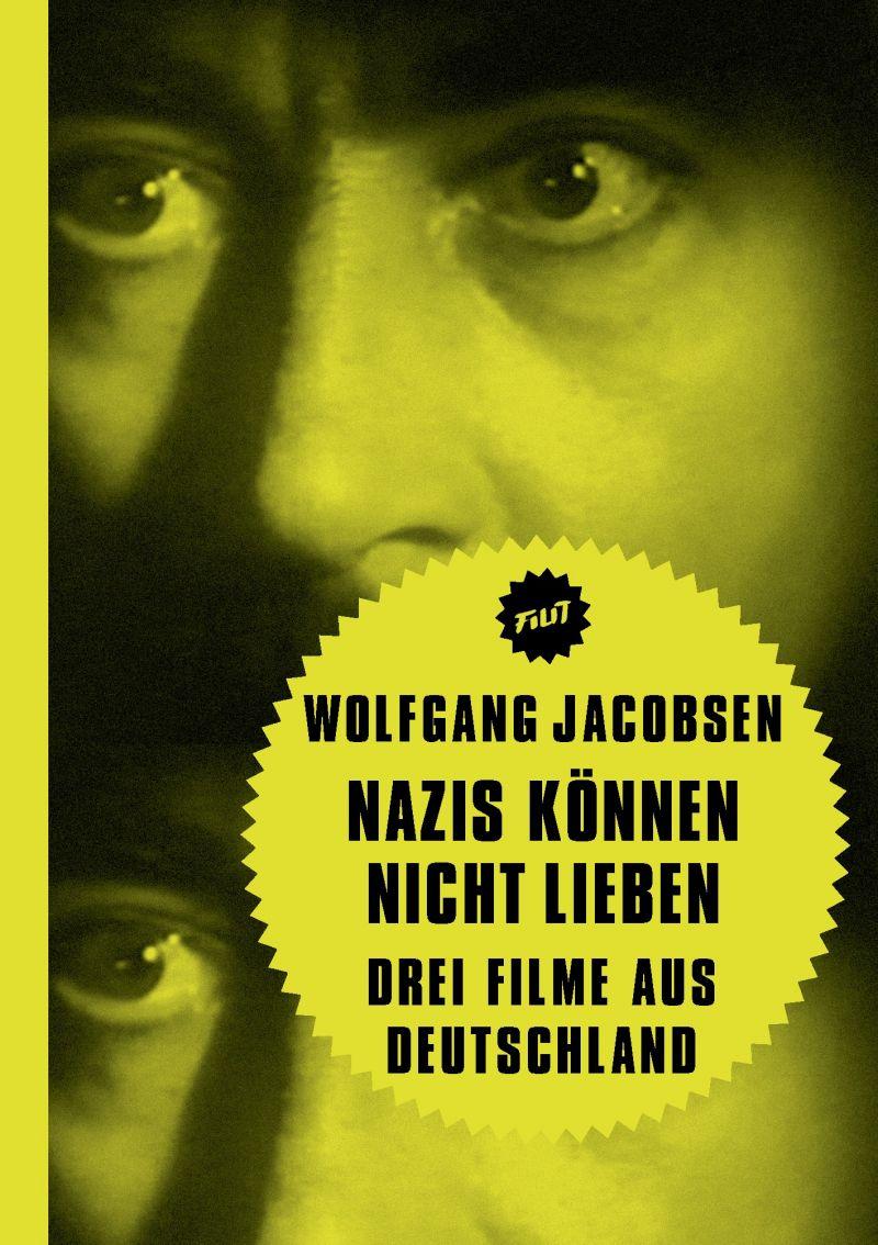 Grell-gelbes Buchcover mit Gesicht eines Mannes