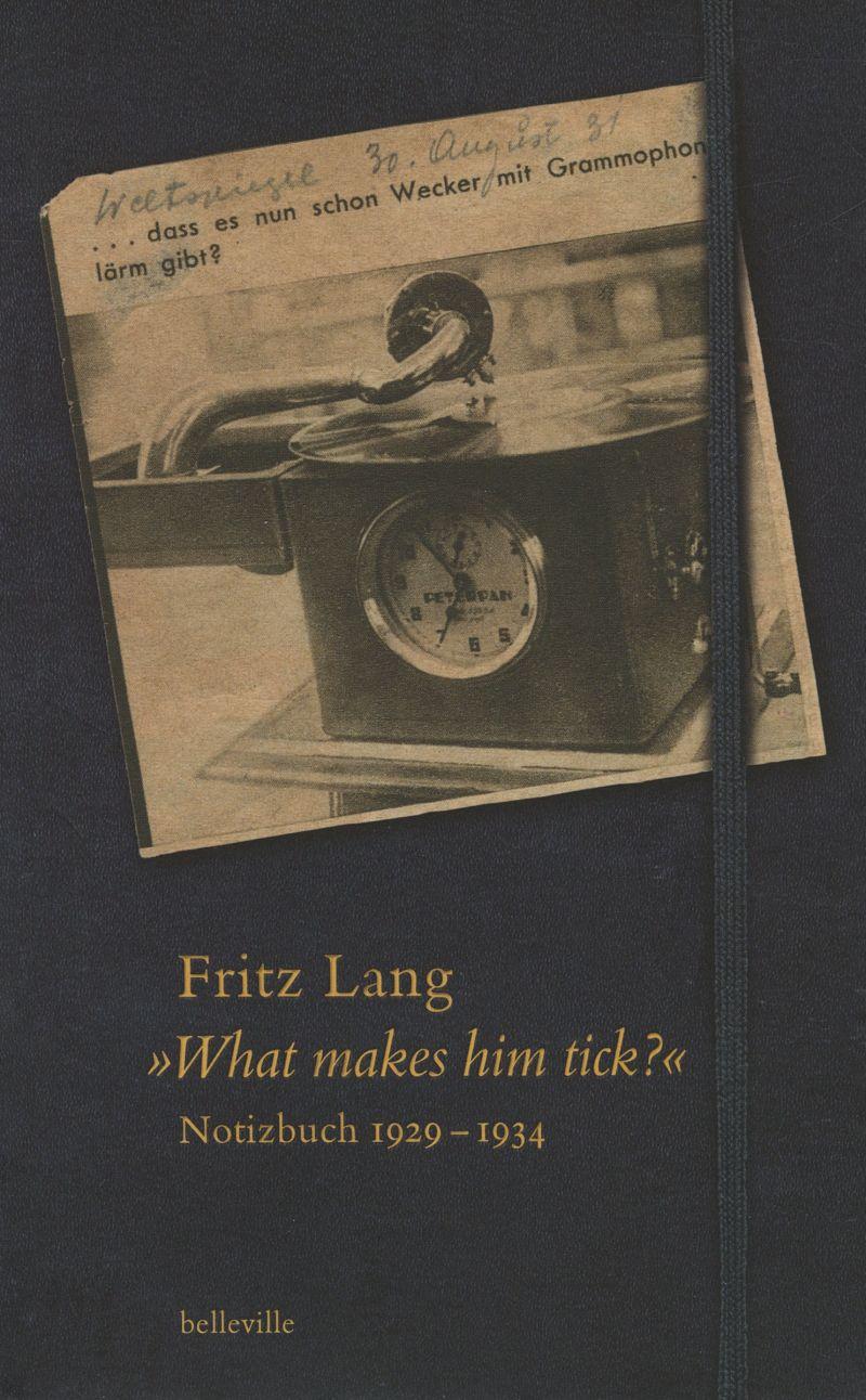 Buchcover zu Fritz Langs Notizbuch 1929 bis 1934