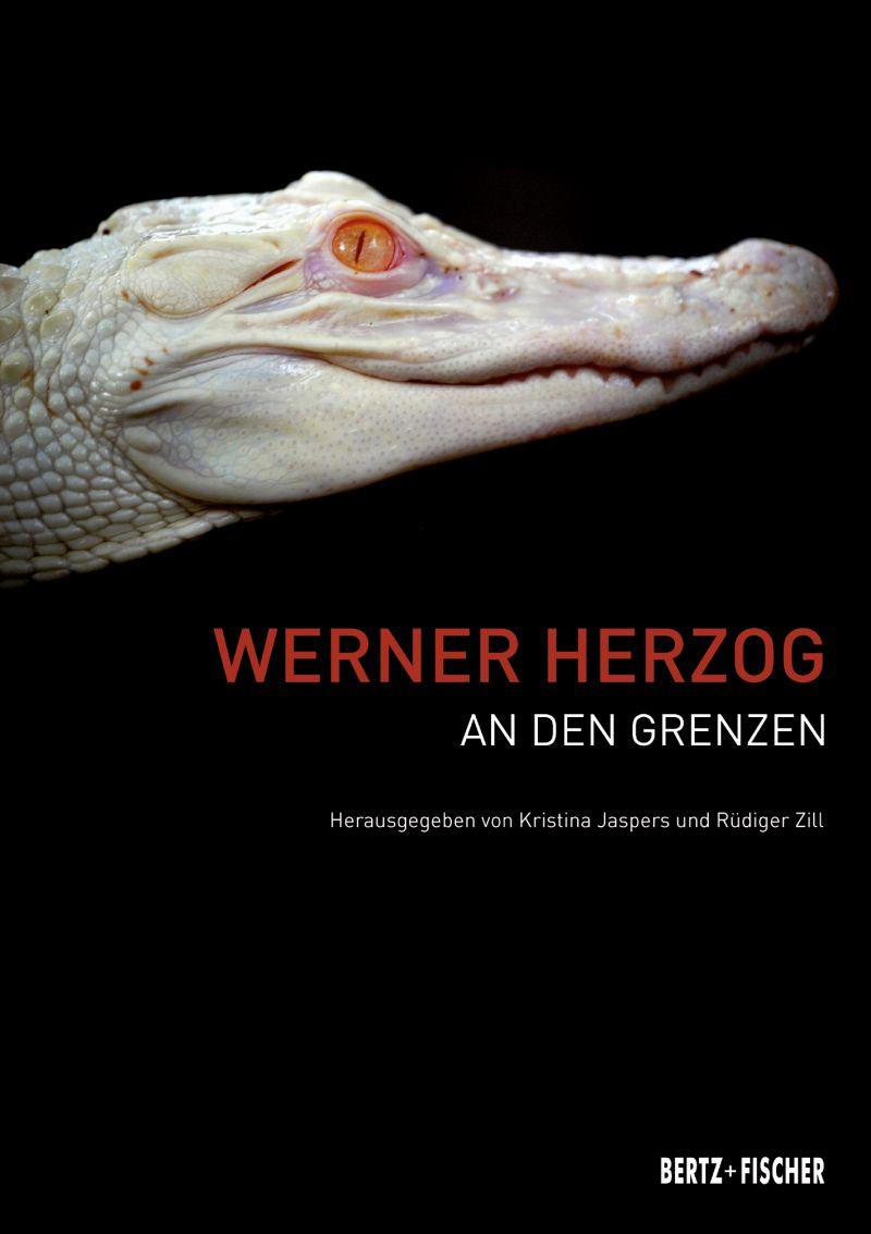 """Cover des Buches """"Werner Herzog – An den Grenzen"""""""
