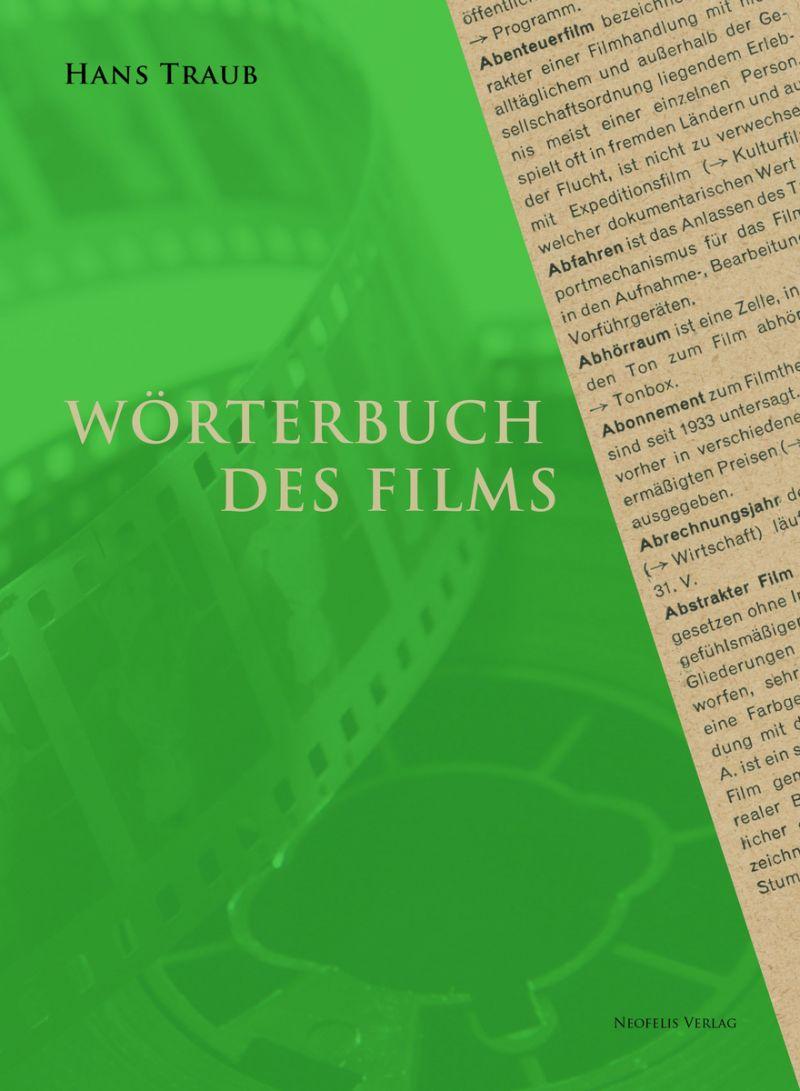 """Cover des Buches """"Wörterbuch des Films"""""""