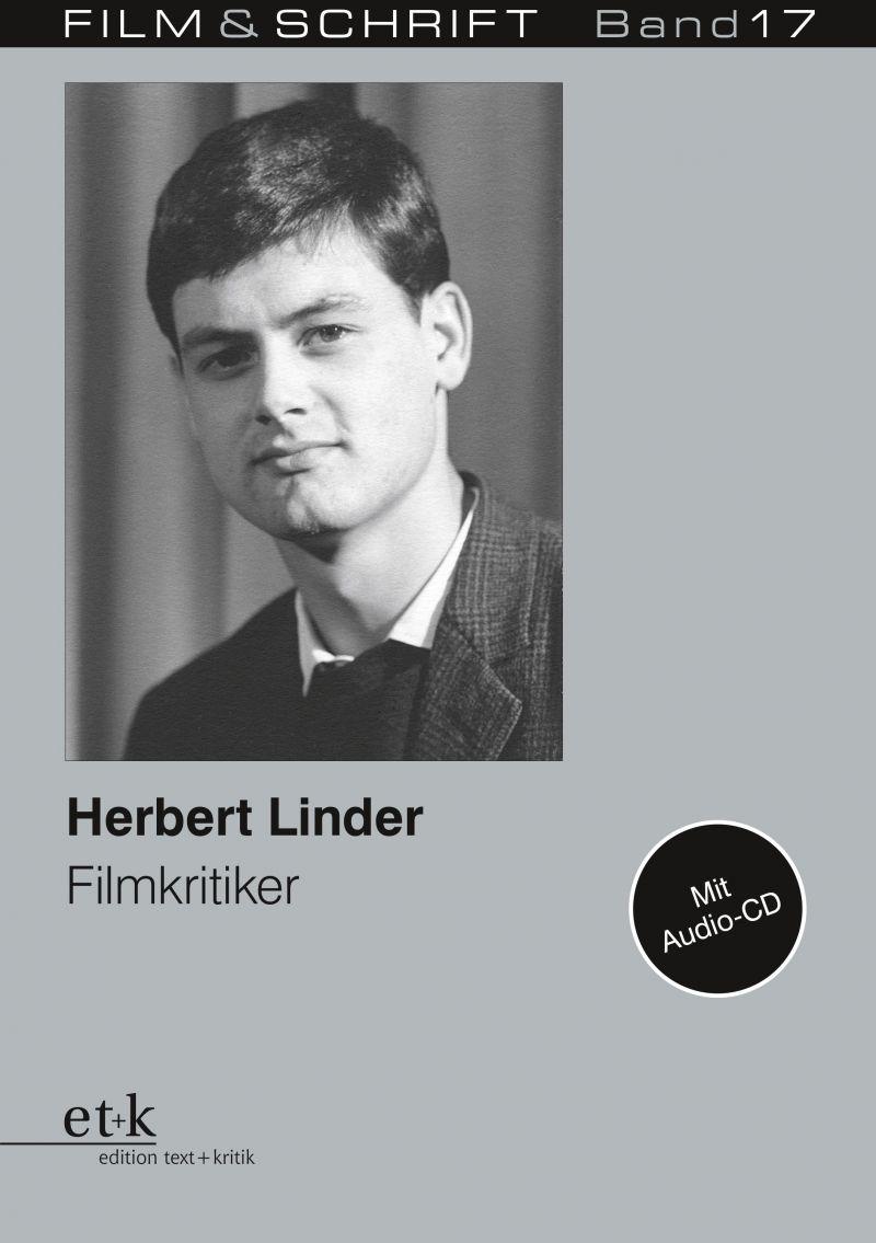 """Cover des Buches """"Herbert Linder Filmkritiker"""", herausgegeben von Rolf Aurich und Wolfgang Jacobsen"""