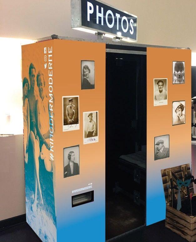 Fotoautomat im Museum für Film und Fernsehen zur Langen Nacht der Museen 2019