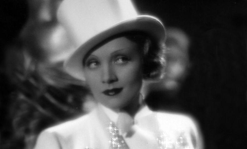Marlene Dietrich in Blonde Venus