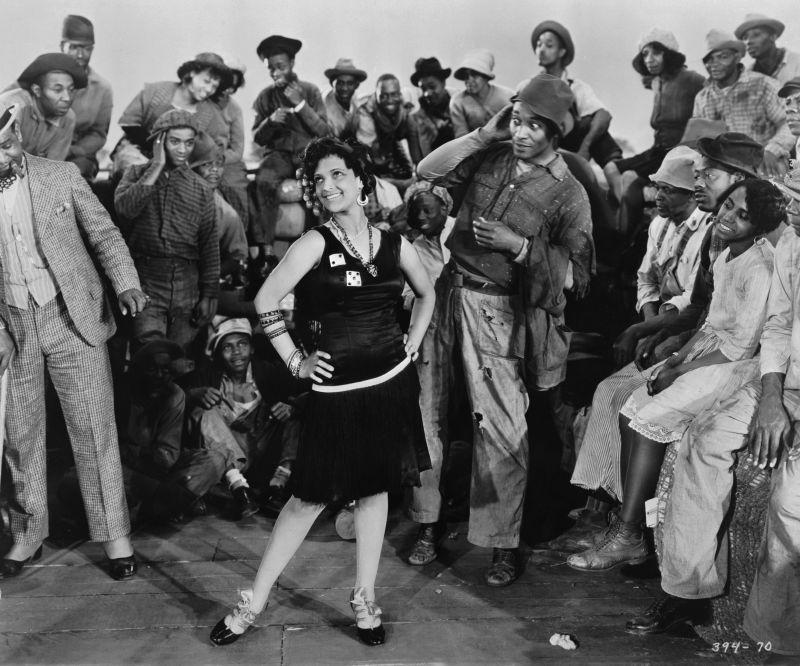 Nina Mae McKinney und Daniel L. Haynes in Hallelujah, USA 1929, Regie: King Vidor