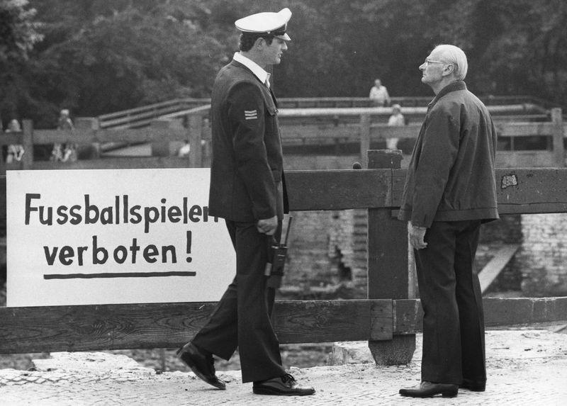 Szene aus dem Film Opa Schulz von Erika Runge