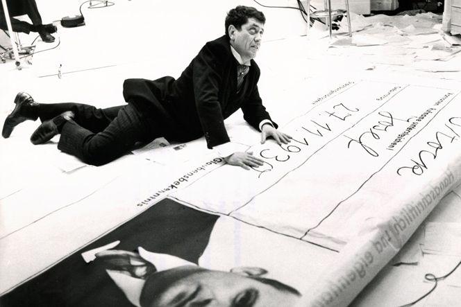 Szene aus Peter Lilienthals Film Unbeschriebenes Blatt aus dem Jahr 1966