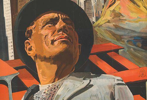 Plakat zum Film Der verlorene Sohn von Plakatkünstler Josef Fenneker