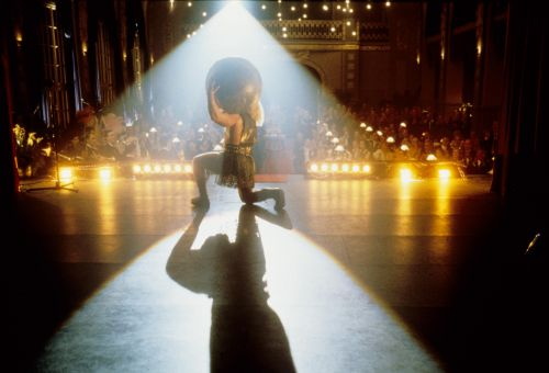 Still from the film Invincible