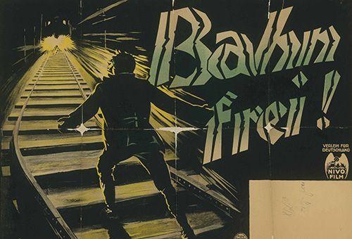Filmplakat zu <i>A Question of Honor</i> (Bahn frei!)