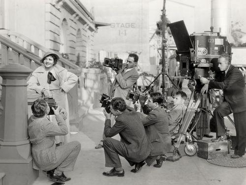 Werkfoto vom Film The Gilded Lily (U.S.A. 1935, Regie: Wesley Ruggles)