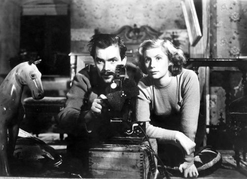 Szenenfoto aus dem Film Gefängnis (Schweden 1949, Regie: Ingmar Bergman)