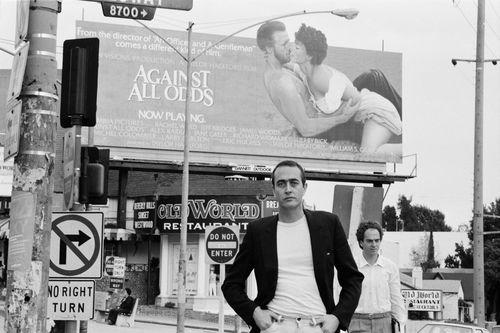 Porträt von Bernd Eichinger in Los Angeles in der 1980er Jahren (Fotografin: Karin Rocholl)