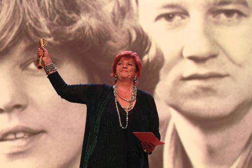 Porträtfoto von Regina Ziegler bei der Verleihung des Deutschen Filmpreises