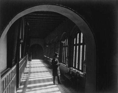 Set photo, Buddenbrooks (Germany 1923, director: Gerhard Lamprecht), Source: Deutsche Kinemathek – Fotoarchiv