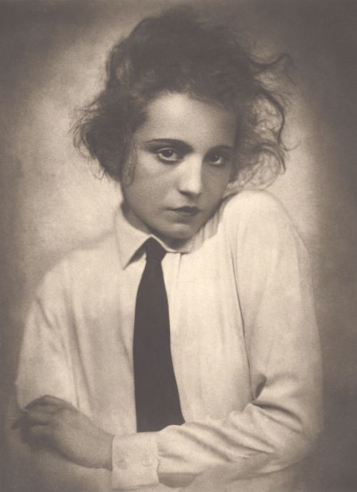 Elisabeth Bergner, 1922, Foto: Angelo, Quelle: Deutsche Kinemathek – Fotoarchiv