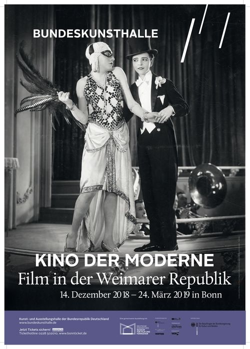 Poster from the Exhibition Modernist Cinema. Film in the Weimar Republic