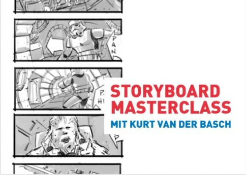Masterclass mit dem Storyboard Artist Kurt van der Basch
