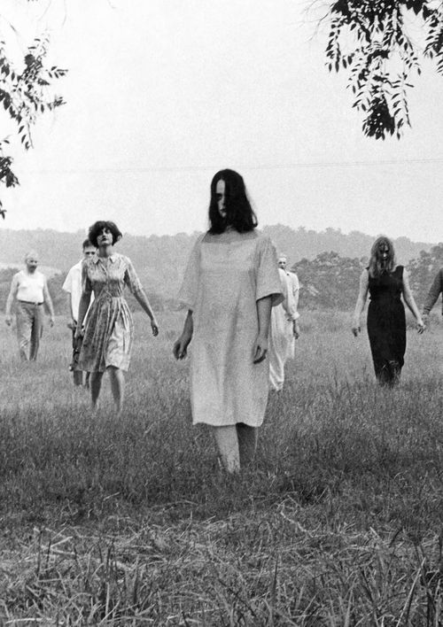 Szenenfoto aus dem Film Night of the Living Dead, USA 1968, Regie: George A. Romero