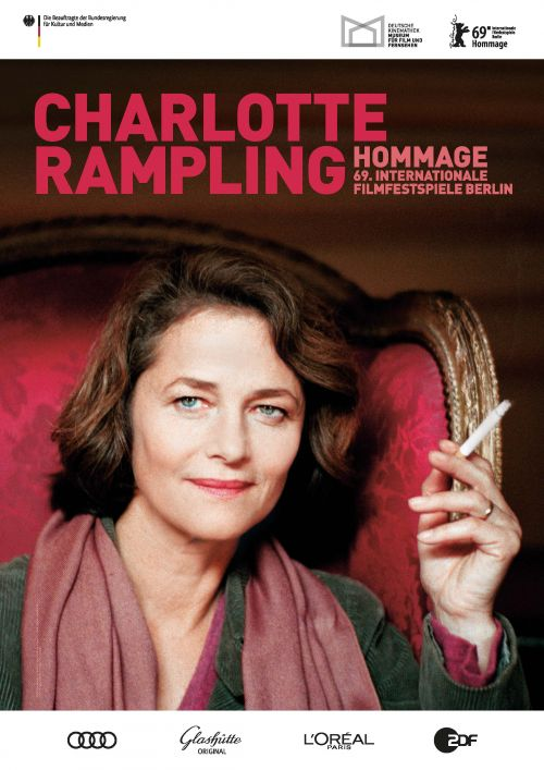 Poster: Homage for Charlotte Rampling
