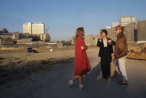 Set photo from <i>Nie wieder schlafen</i> (GER 1992, director: Pia Frankenberg)