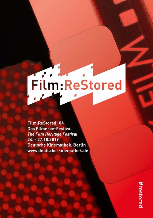 Key Visual zum Filmerbe-Festival Film:ReStored 2019