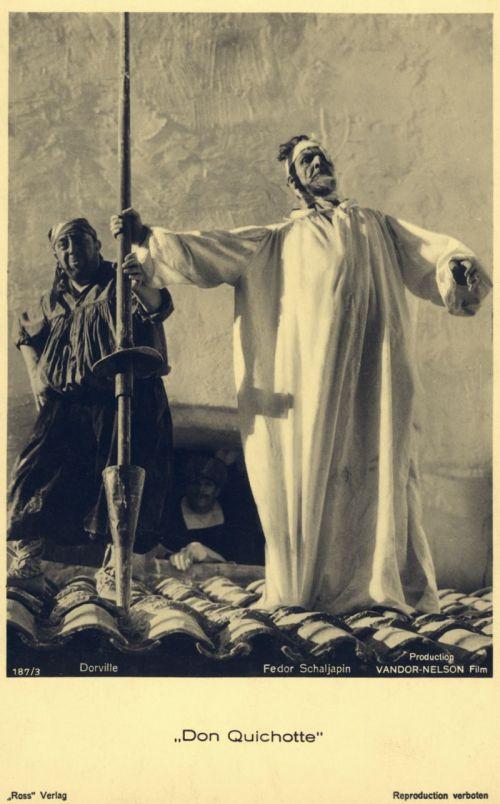 Szenenfoto aus dem Film Don Quichotte