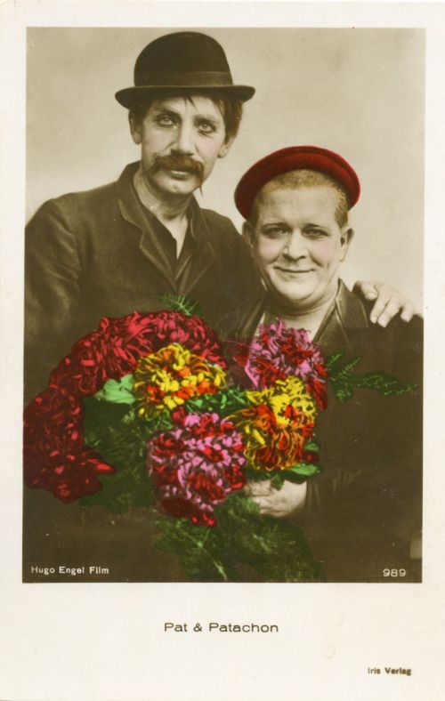 Photograph of the protagonists Pat und Patachon